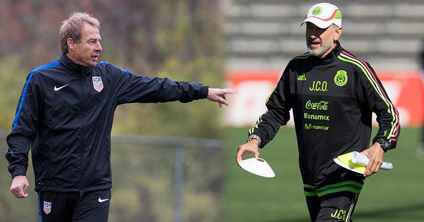 Jurgen Klinsmann y Juan Carlos Osorio