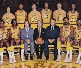 Los Angeles Lakers 71-72 Season