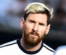 Lione Messi con Argentina