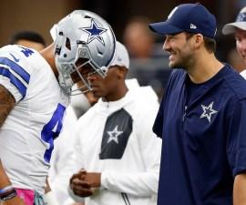 Tony Romo y Dak Prescott