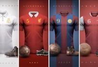 Jerseys vintage de la ligas más importantes del mundo