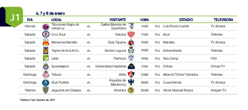 calendario-liga-mx