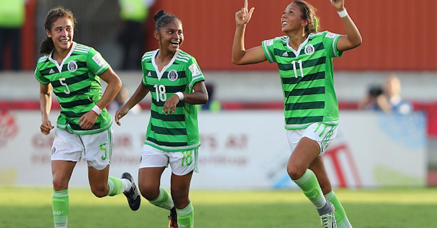 USA v Mexico: Quater Final - FIFA U-20 Women's World Cup Papua New Guinea