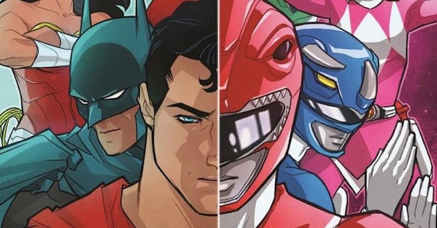 Power Rangers/Justice League