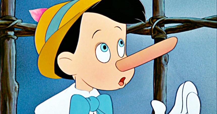 Pinocchio mentiroso
