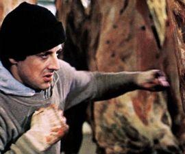 Rocky Balboa entrenando