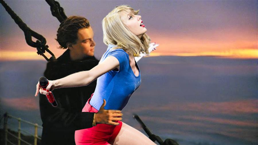 Taylor Swift y Titanic