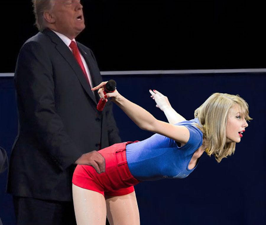 Taylor Swift y Trump