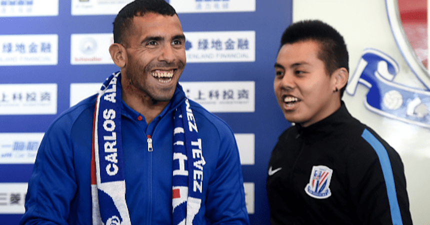 Tevez-China