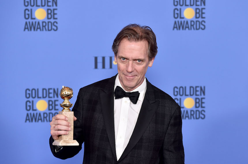 Hugh Laurie Golden Globes