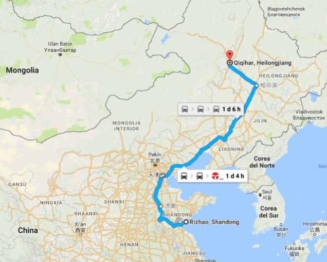 camino china bici