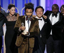 Childish Gambino triunfa en los Golden Globes