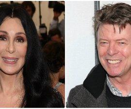 David Bowie y Cher