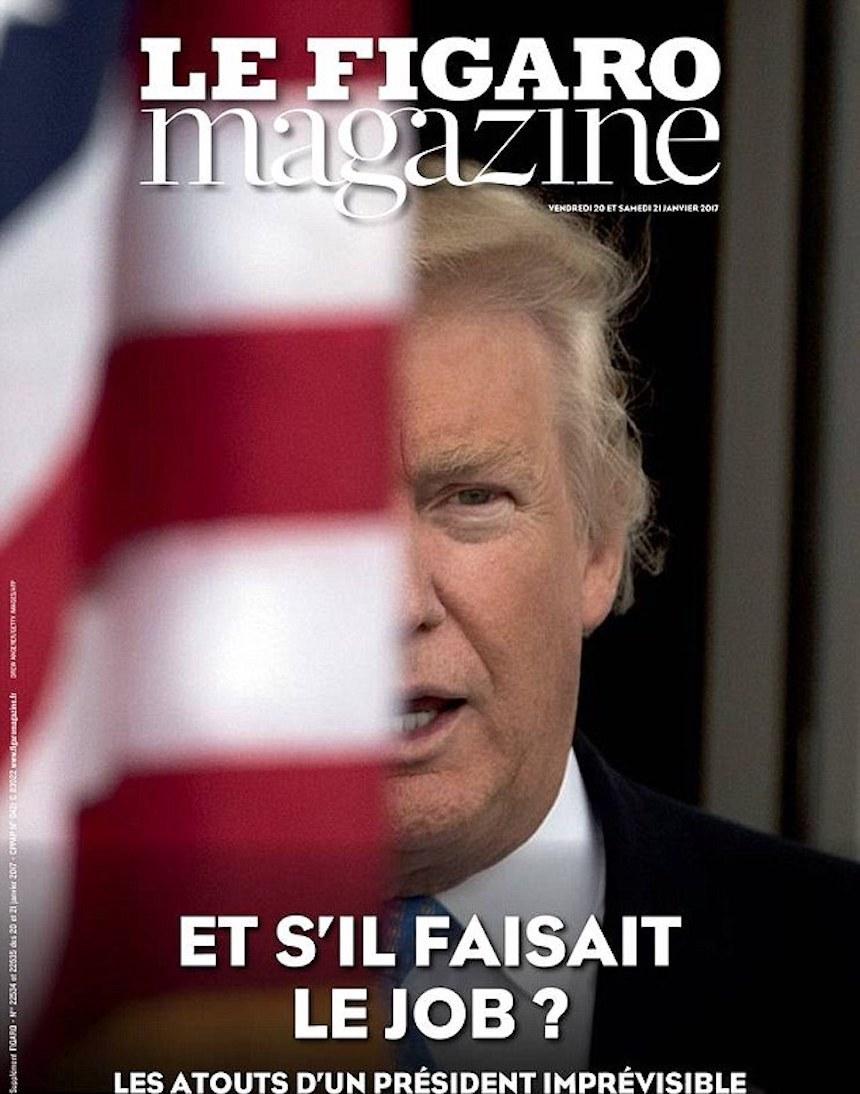 Donald Trump Revista Francia