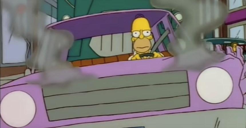 Auto de Homero Simpson