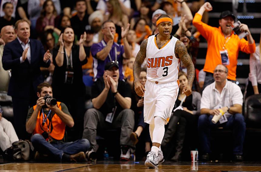 Isaiah Thomas con los Phoenix Suns