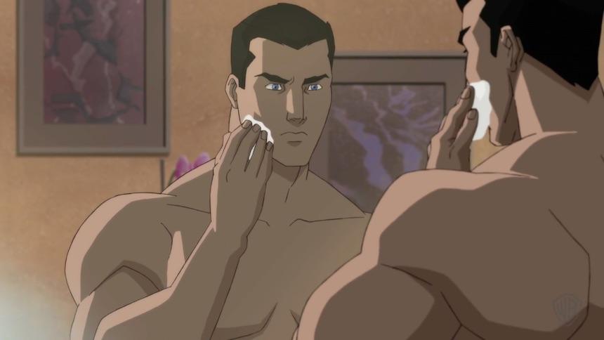 Batman se rasura