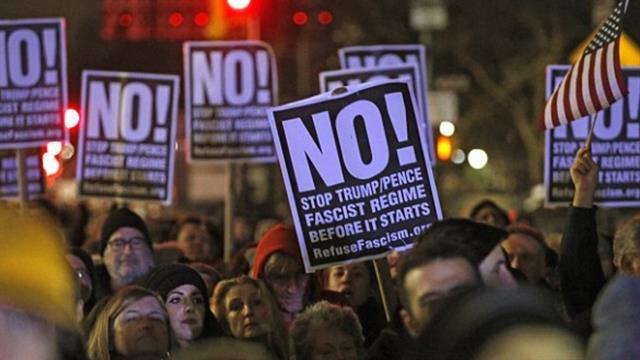 protesta ny trump