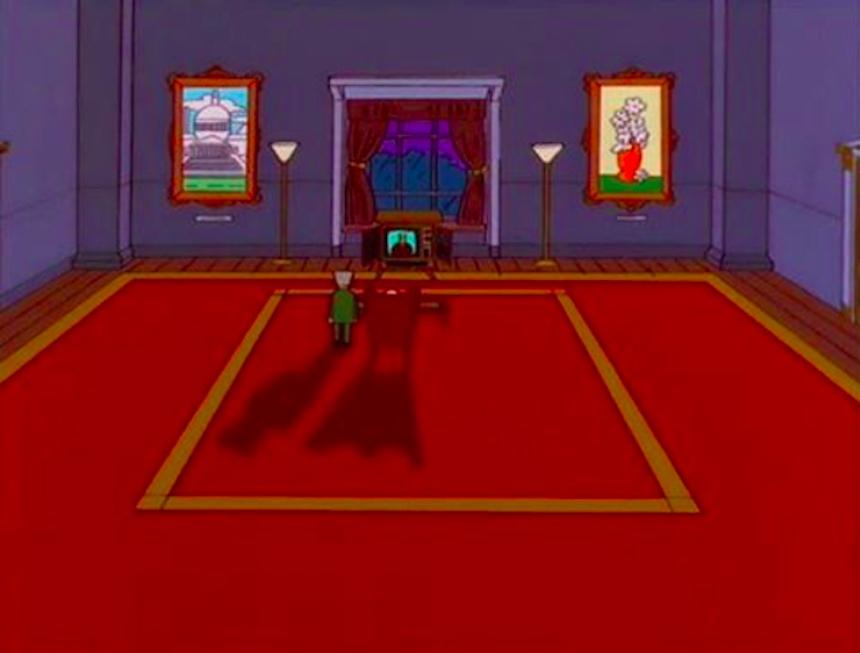 Los Simpson - Oficina de Burns