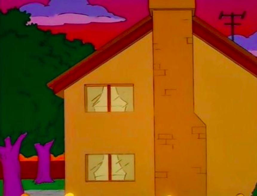 Los Simpson - Casa de Homer