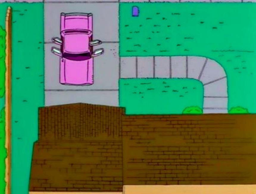 Los Simpson - Garage