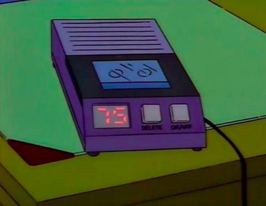 Los Simpson - Grabadora