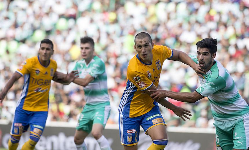 Tigres vs Santos