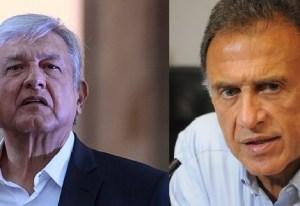 """""""AMLO recibió dinero de Duarte"""": Yunes; """"si lo comprueba, me retiro de la política"""": AMLO"""