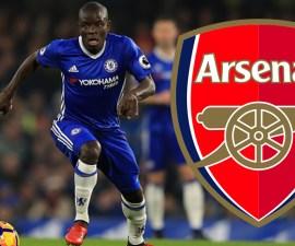 N'Golo Kanté al Arsenal
