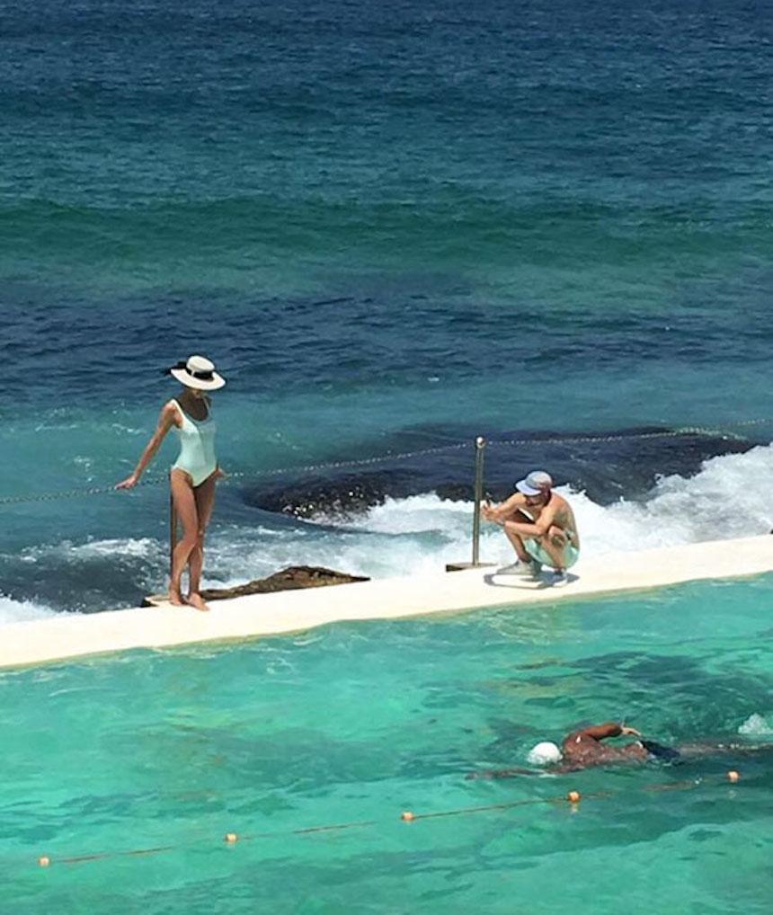 Novios de Instagram - Foto en el mar