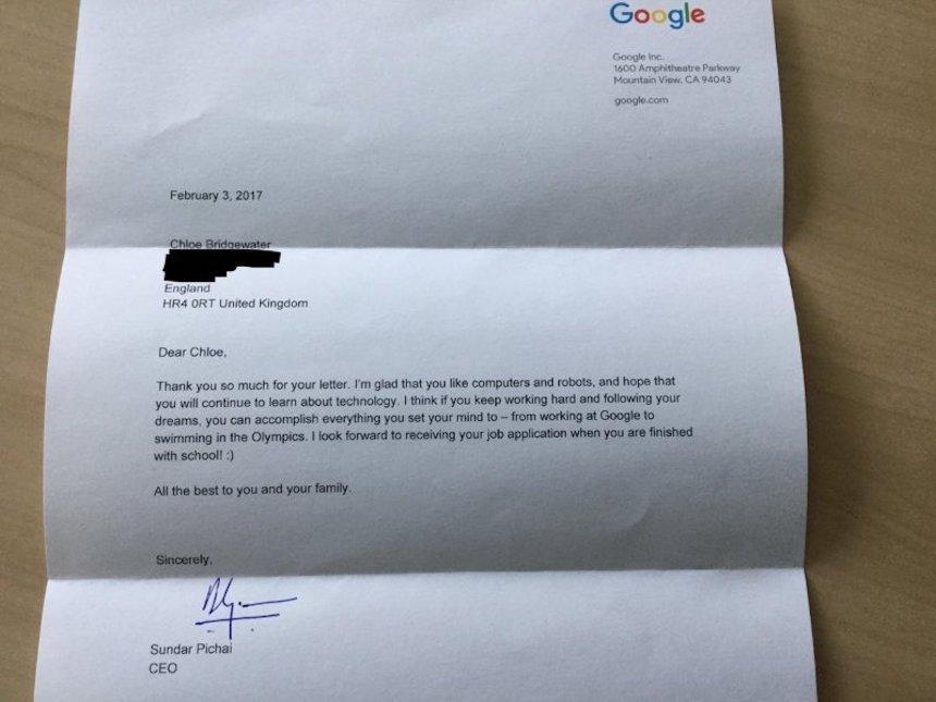 Respuesta Google