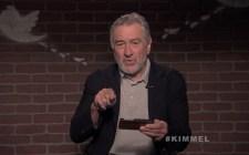 Robert De Niro lee Mean Tweets