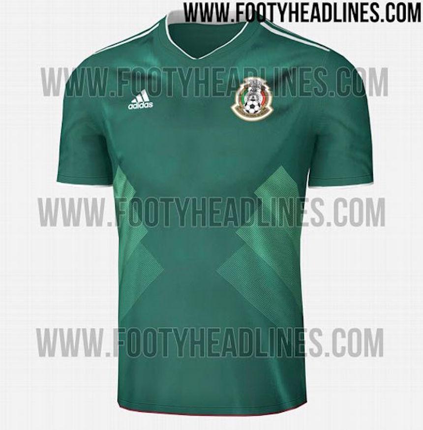 jersey mexico copa confederaciones 2017
