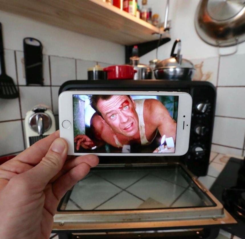 SnapChat - John McClane