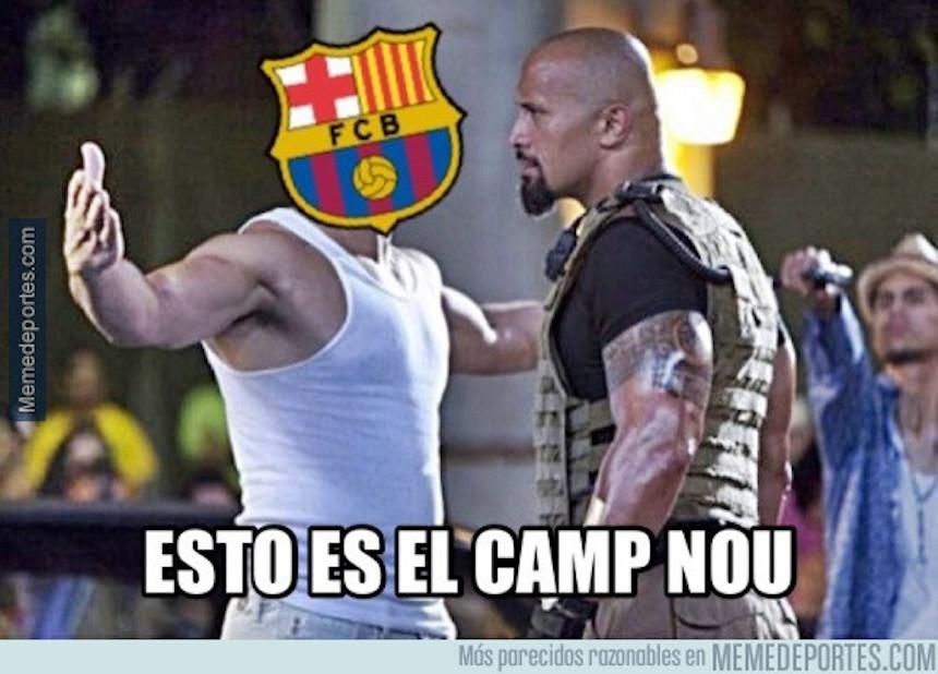 meme psg barcelona champions