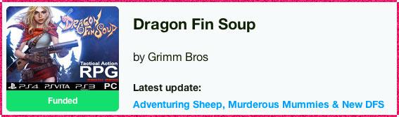 Dragon Fin Soup Kickstarter