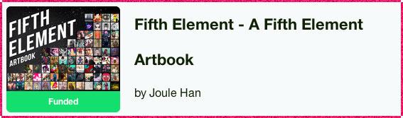 Fifth Element Artbook Kickstarter