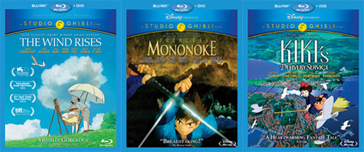 3 New Studio Ghibli Films Hit US on Blu-Ray Via Disney