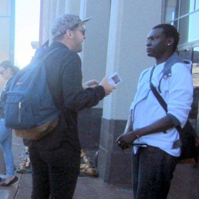 JACOB WITNESSES TO MAN IN BERKELEY.