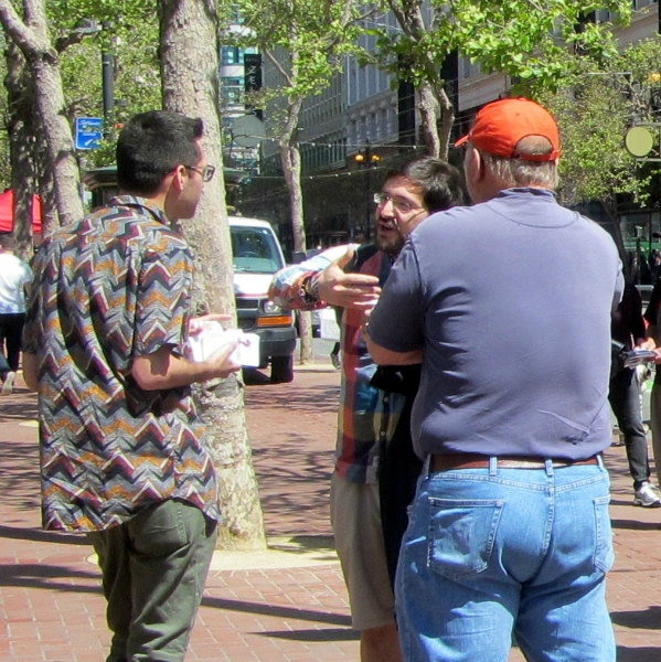 JACOB AND STEVE WITNESS TO FAVIO AT 5TH AND MARKET.
