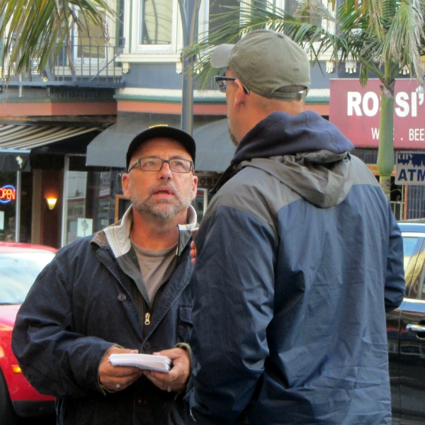 ERIC WITNESSES TO ANDRE ON CASTRO ST.