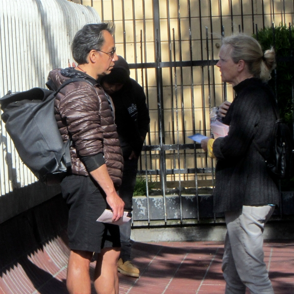 JILL WITNESSES AT 24TH AND MISSION