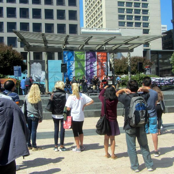 BRIDGEPOINT COMMUNITY CHURCH (PACIFICA) MINISTERS AT UNION SQUARE