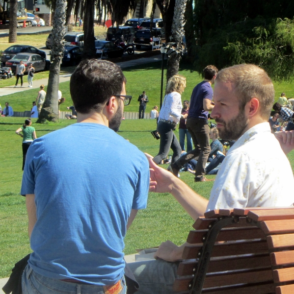 CAL WITNESSES AT DOLORES PARK.