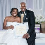 "Bride proves she's a virgin to father at wedding with a doctor's certificate stamped ""Cherry un-popped"""