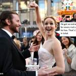 Jennifer Lawrence on the female pay gap in the film industry.