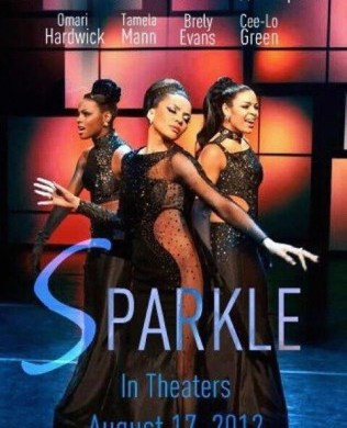 Sparkle 2012 Movie Poster with Whitney Houston and Jordin Sparks