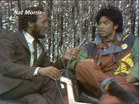 Andre Cymone Interview 1982 by Detroit's The Scene host Nat Morris