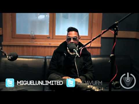 Miguel Interviewed in London January 22, 2013