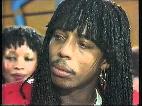 Rare Rick James Interview after First Concert in Europe 1982
